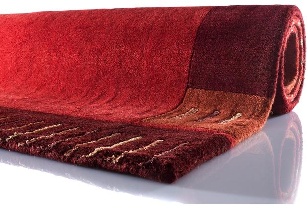 Zaba Nepalteppich Lalipur rot 40 cm x 60 cm