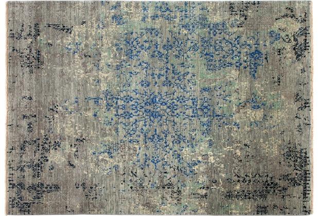 Zaba Teppich Excellence grau 70 x 140 cm