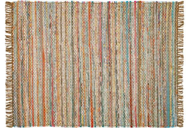 Zaba Teppich Highland handgewebt beige/braun 60 x 90 cm