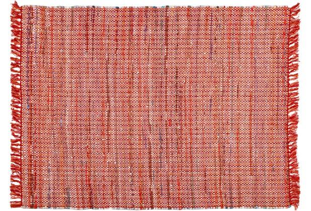 Zaba Handwebteppich Highland rot 60 x 90 cm