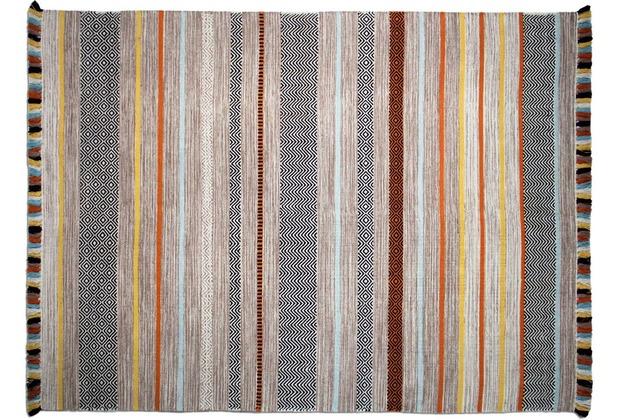 Zaba Teppich Kalleen handgewebt beige 60 x 90 cm