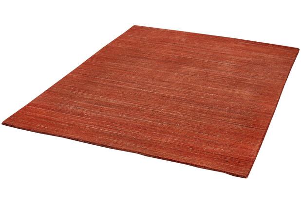 Zaba Gabbeh-Teppich Loras copper 65 x 130 cm