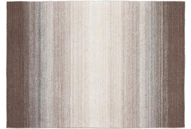 Zaba Gabbeh-Teppich Marbella baun 70 x 140 cm