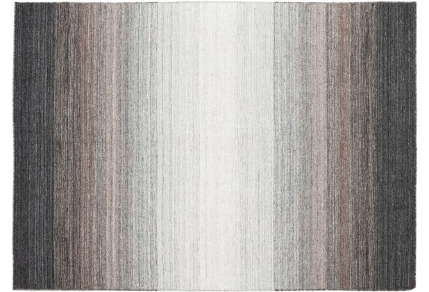 Zaba Gabbeh-Teppich Marbella grau 70 x 140 cm