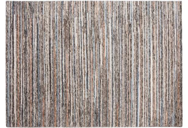 Zaba Teppich San Remo natural/blau 60 x 90 cm