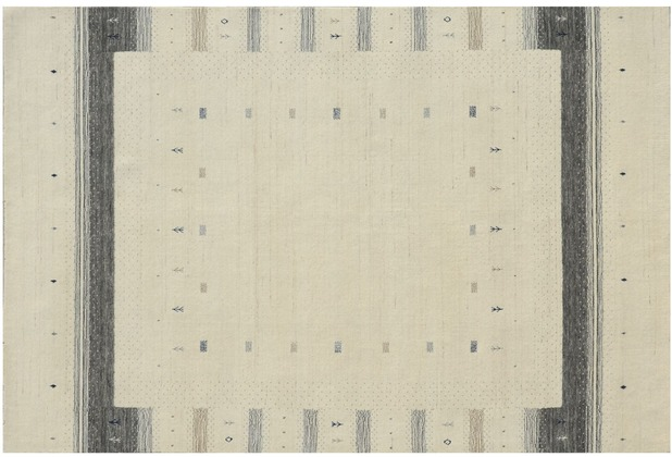 Zaba Gabbeh-Teppich Weavy N-02 beige 60 x 90 cm