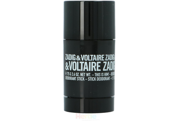 Zadig & Voltaire This Is Him Deo Stick Alcohol-Free 75 gr