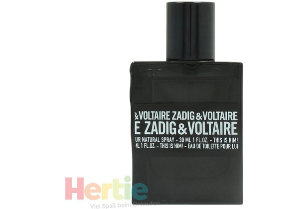 Zadig & Voltaire This Is Him edt spray 30 ml