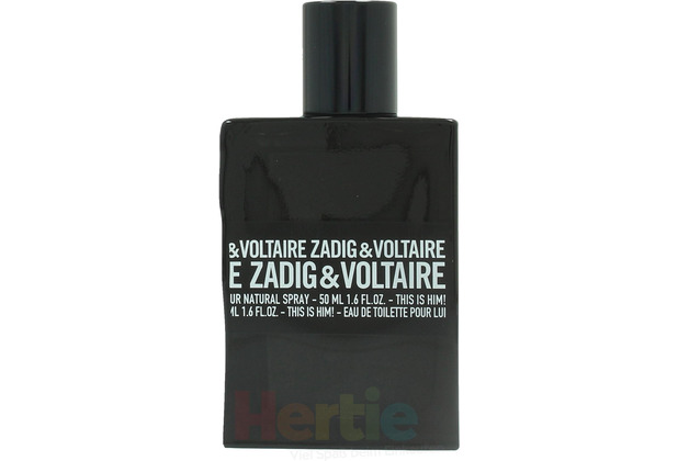 Zadig & Voltaire This Is Him edt spray 50 ml