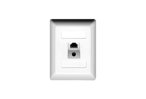 ZE Kom ISDN-Anschlussdose (einfach), Aufputz