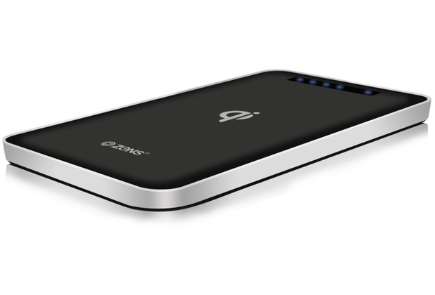 ZENS Qi Wireless Power Bank, 4.500mAh, schwarz