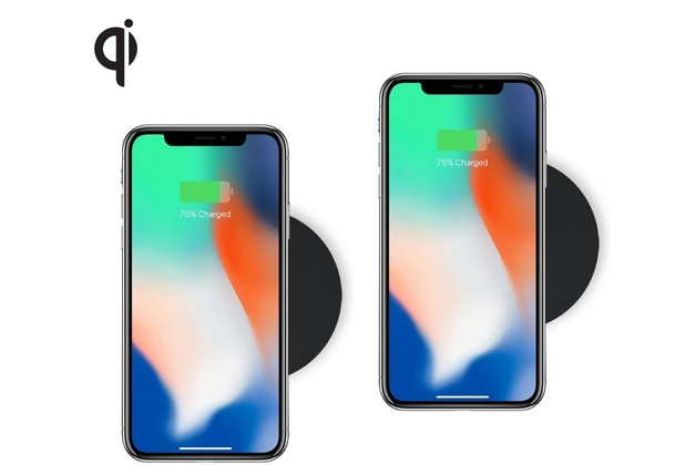ZENS Single Wireless Charger Round TWIN 5W, Qi