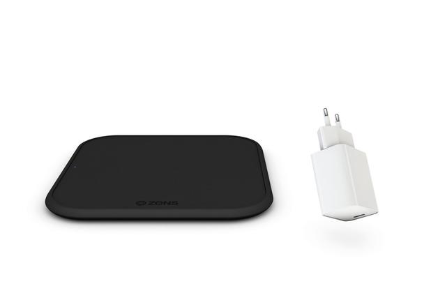 ZENS Starter Kit Single Fast Charger 10W + USB-C Ladegerät 18W, Qi, ZESC12BPD/00