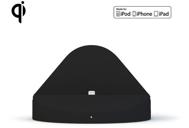 ZENS Wireless Dock Lightning Apple iPhone & iPad 3000mAh Qi schwarz