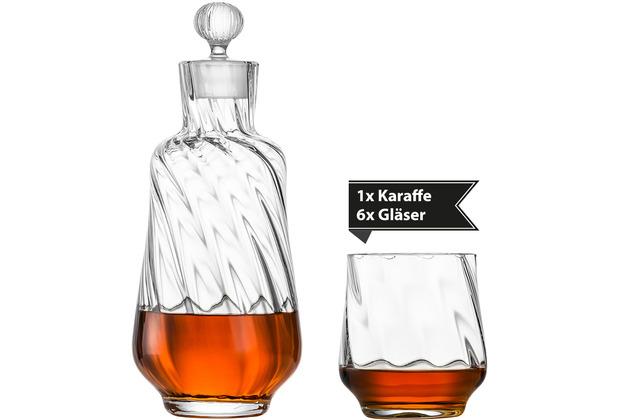 Zwiesel Glas Karaffe Whis Marlène + 2 Whiskytumble Marlène