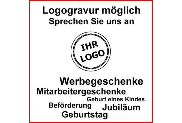 Zetzsche große Profi-Grillzange MIT GRAVUR (z.B. Namen) 60 cm aus Buchenholz im Geschenkkarton