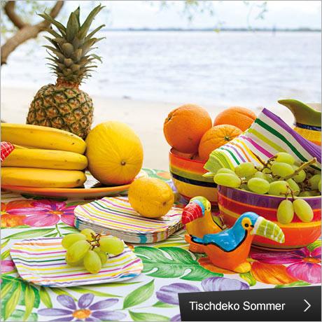 Tischdeko Sommer, Hertie