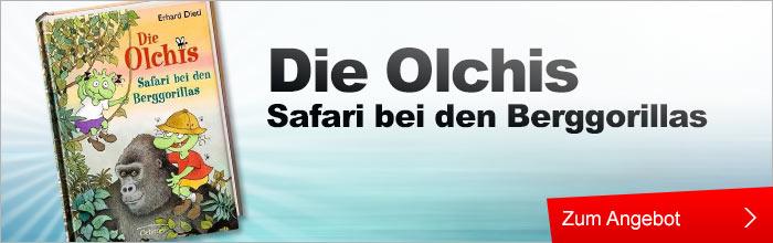 Die Olchis. Safari bei den Berggorillas Buch, Musik und Film Bücher Kinderbuch und Jugendbuch Kinderromane und Erzählungen