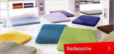 Wohnen und Einrichten , Badteppiche