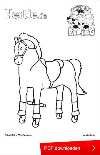 Ausmalbilder Pferd