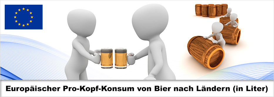 Bierkonsum in Europa