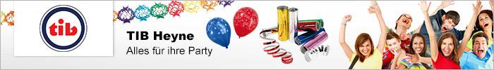 TIB Heyne , Alles für Ihre Party , die Partyausrüstung