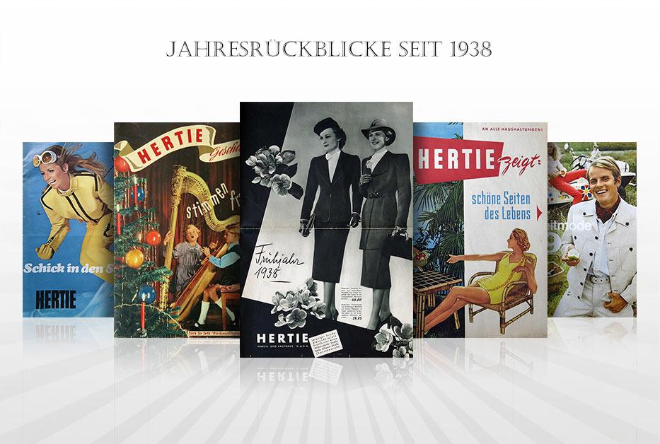 Hertie Online-Museum – Jahresrückblicke seit 1938