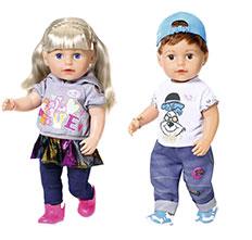 Puppen und Tiere