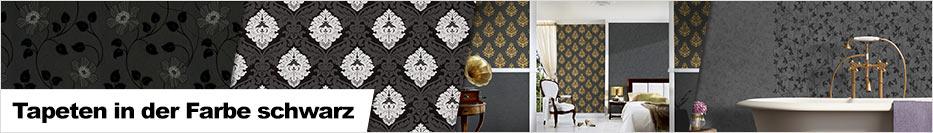 Tapeten in der Farbe schwarz