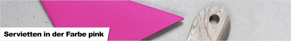 Servietten pink