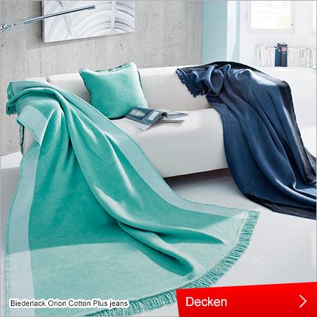 Wohnen und Einrichten , Decken , Heimtextilien