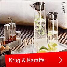 Krug und Karaffe