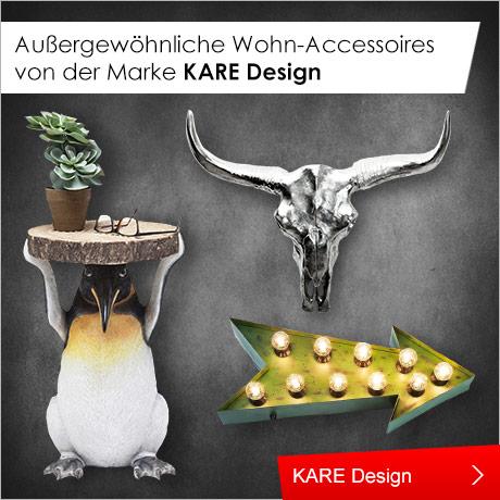 Außergewöhnliche Wohn-Accessoires von der Marke KARE Design