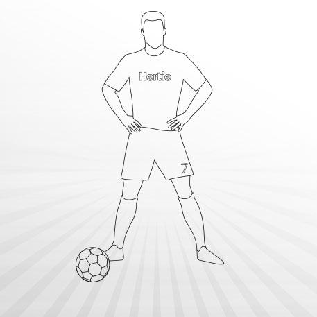 Ausmalbilder Fussball Bei Hertie
