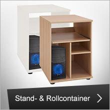 Büro Stand- und Rollcontainer