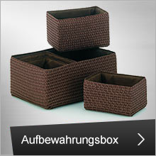 Aufbewahrungsbox- und set