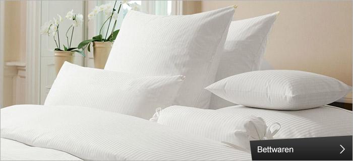 Bettwäsche und Bettwaren