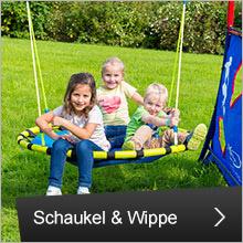 Schaukel und Wippe