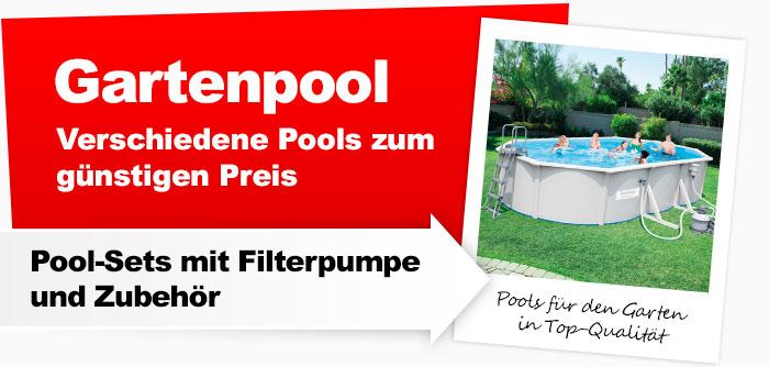 Gartenpools , verschiedene Pools zum günstigen Preis