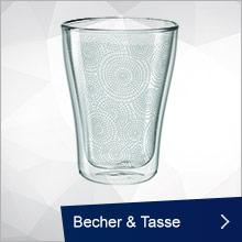 Leonardo Becher, Tasse & Untertasse