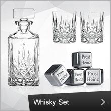 Nachtmann Whisky Set mit Whisky Steinen