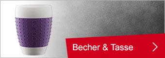 Bodum Becher, Tasse & Untertasse