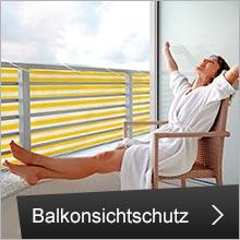Balkonsicht- & Windschutz
