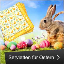 Servietten für Ostern