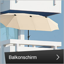 Sonnenschirm - Typ Balkonschirm