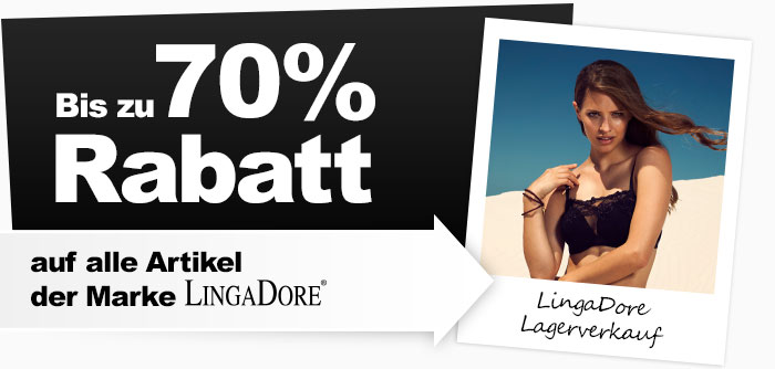 70% Rabatt Wäsche LingaDore