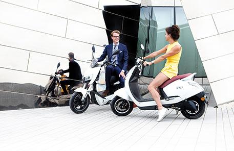 SXT-Scooters E-Roller