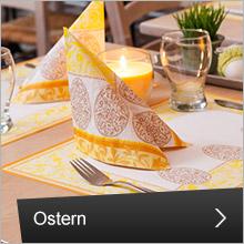 Osterdeko und Tischdekoration zu Ostern
