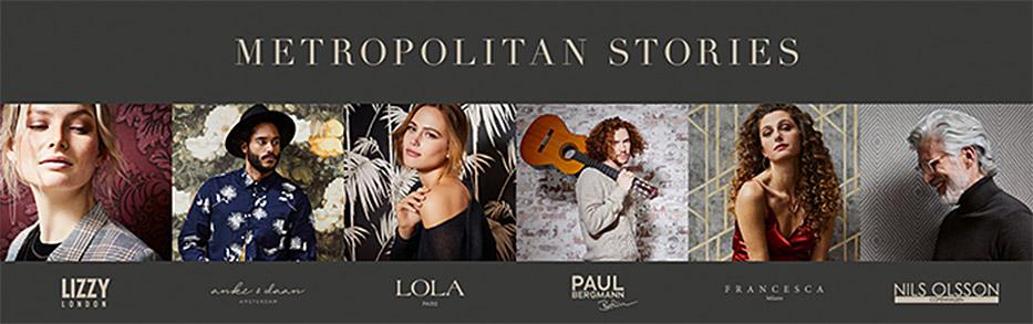 AS Création Livingwalls Metropolitan Stories