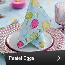 Duni , Pastel Eggs